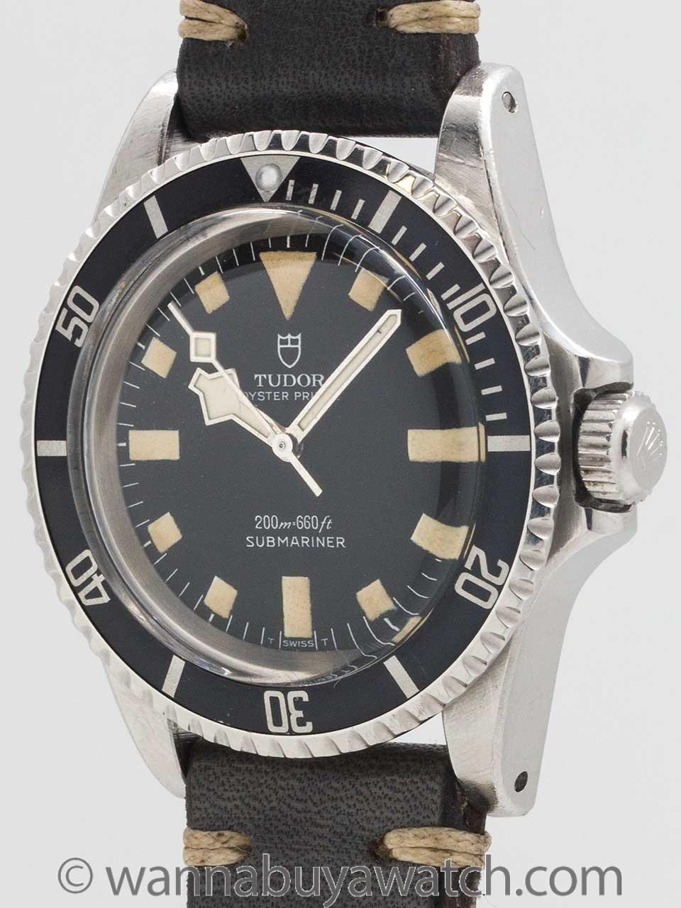 "Tudor ""Snowflake"" Submariner ref# 7016/0 circa 1970."
