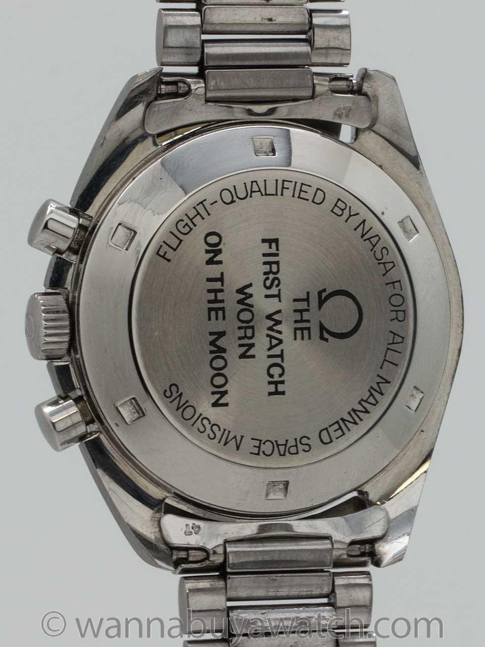"Omega Speedmaster ref 145.022-69 ""Straight Line"" 1st Generation Moon Watch circa 1969"