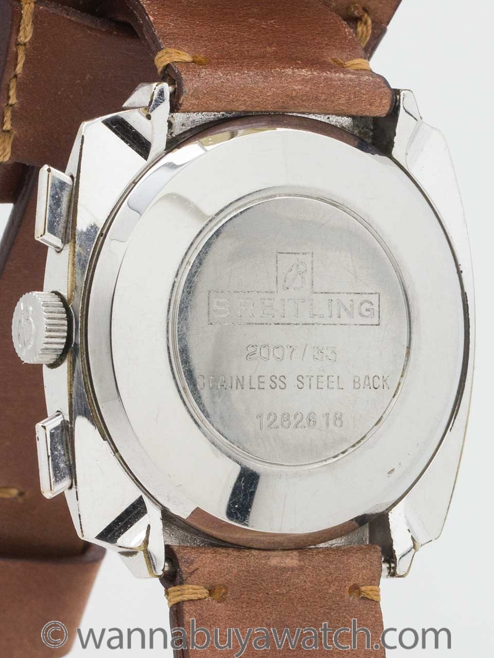 Breitling Top Time Chronograph Stainless Steel circa 1960's