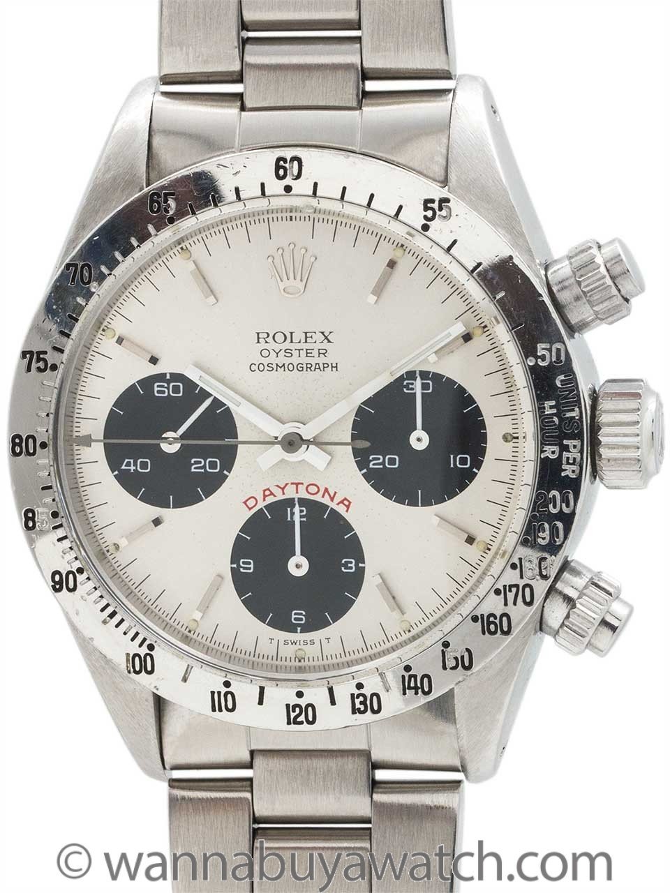Rolex Daytona ref 6265 Big Red circa 1978