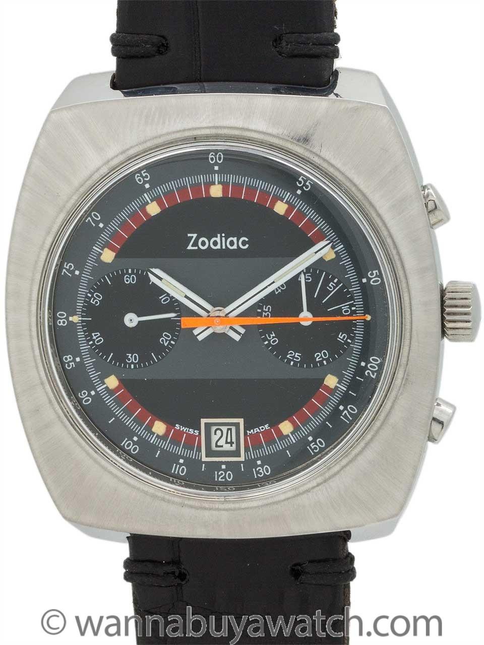 Zodiac Chronograph Oversize circa 1970's