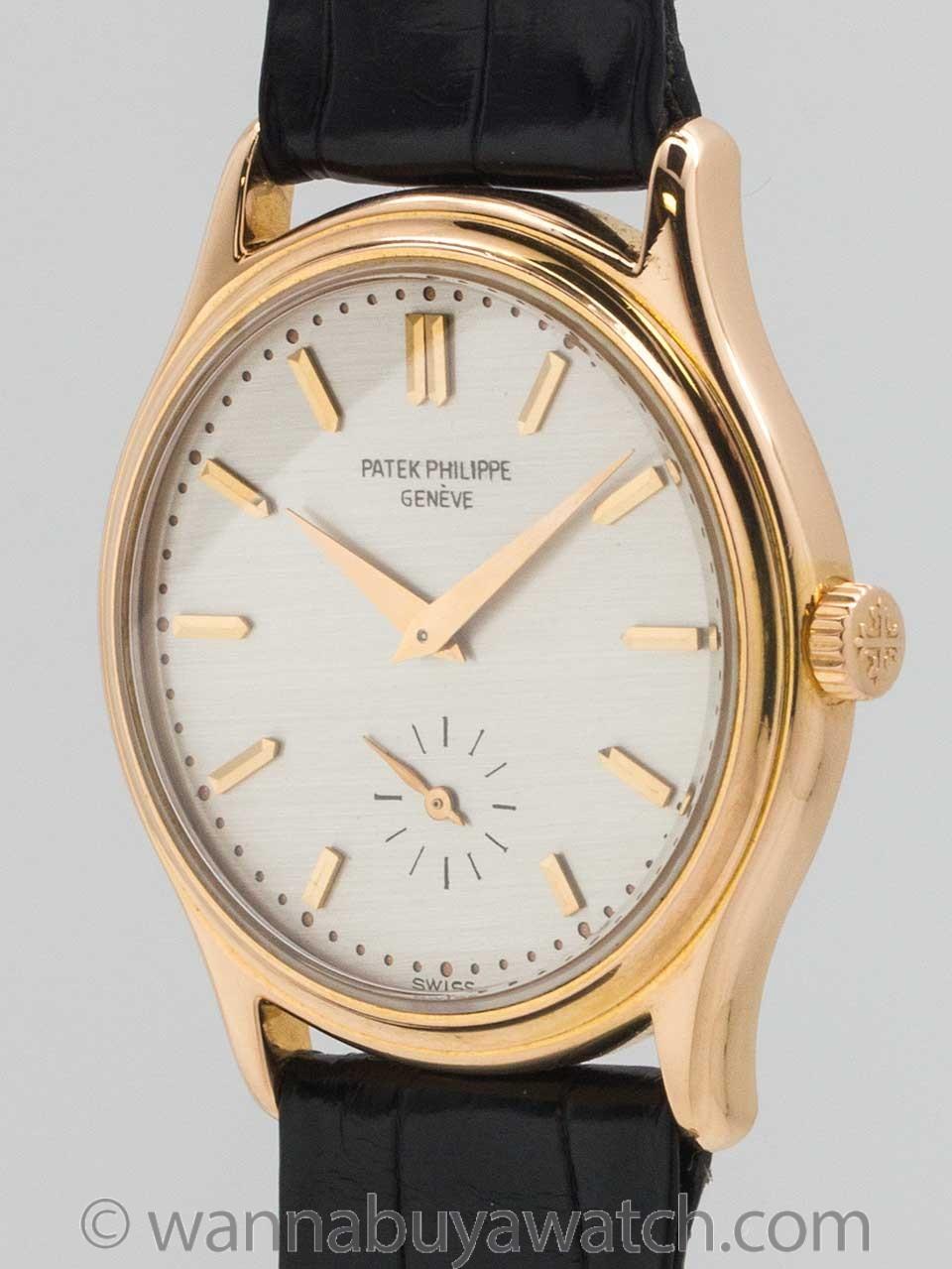 Patek Philippe ref 3923 18K PG circa 1990