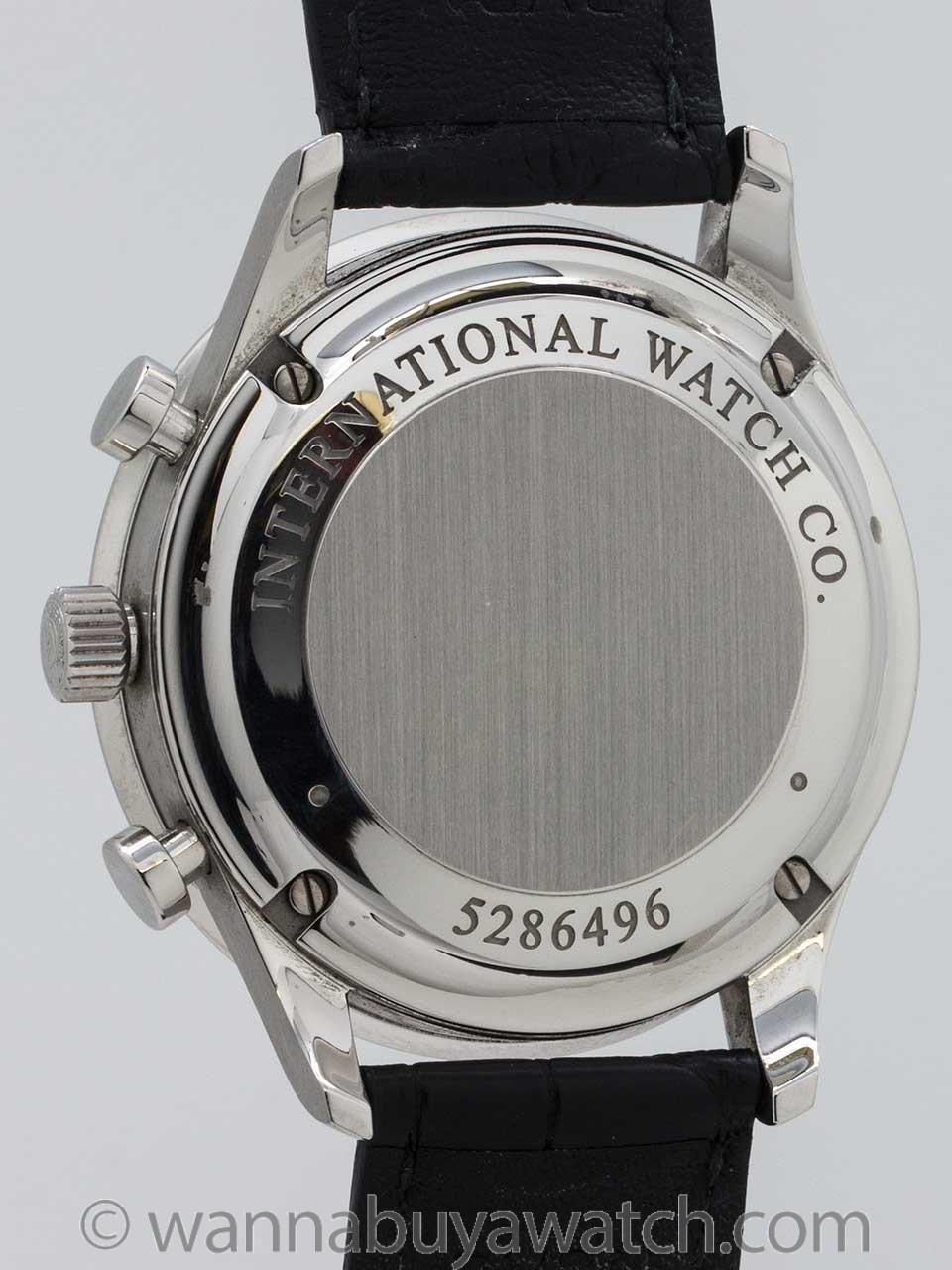 IWC Portuguese Chronograph Box & Papers circa 2012