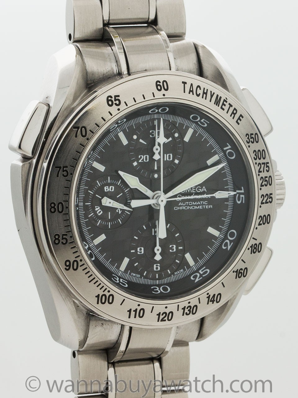 Omega Speedmaster Split Second Rattrapante Watch ref 3540.50.00