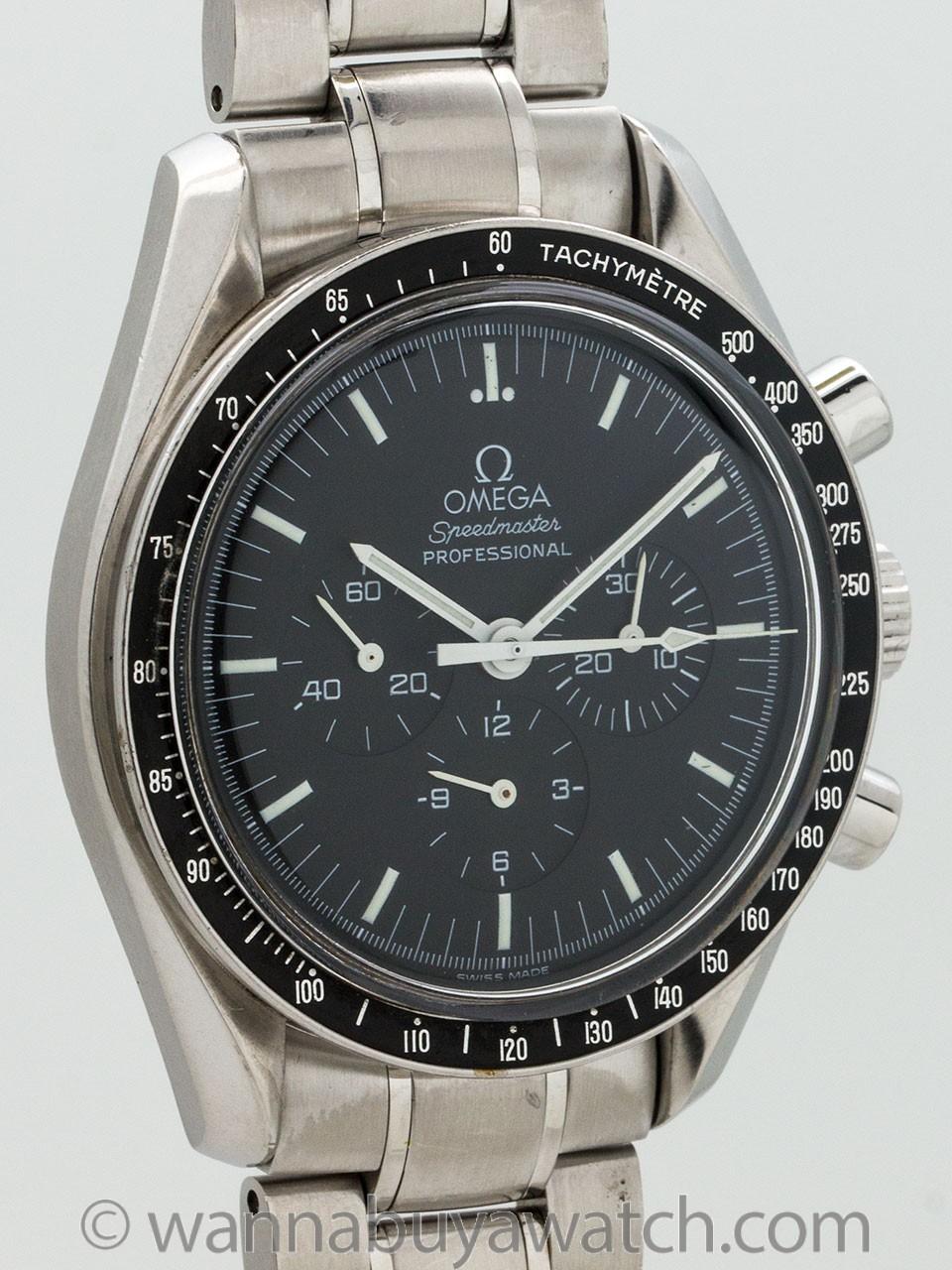 Omega Speedmaster Man on the Moon Apollo 11 30th Anniversary Edition circa 1999