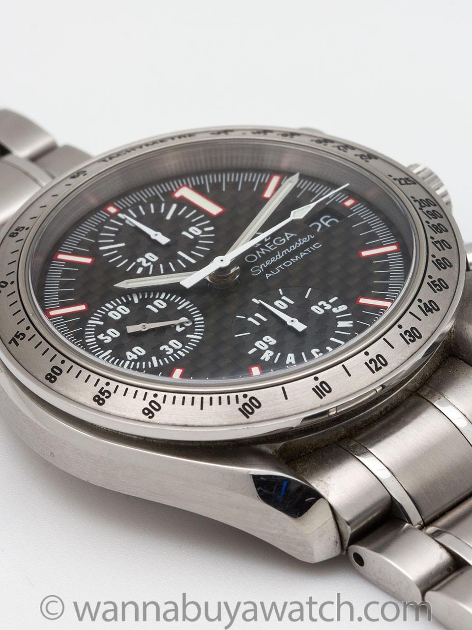 Omega Speedmaster Automatic Racing Michael Schumacher circa 2001
