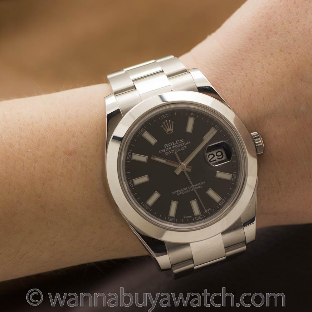 Rolex Datejust II ref# 116300 41mm circa 2015