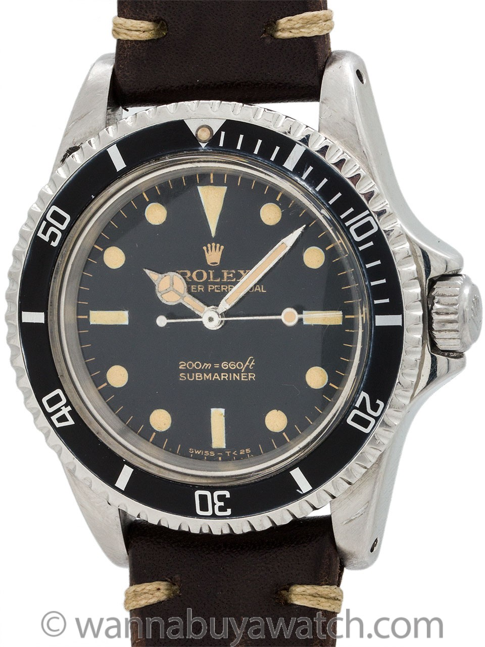 "Rolex Submariner ref 5513 Gilt ""Bart Simpson"" circa 1966"