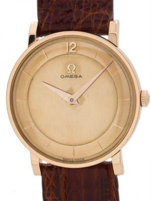 Omega 18K Rose Gold circa 1950's