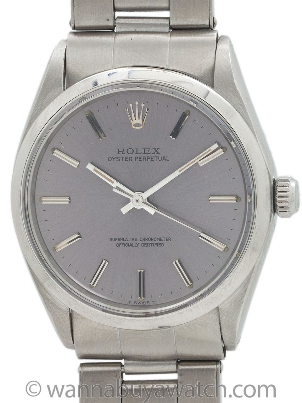 Rolex ref 1002 Oyster Perpetual Stainless Steel circa 1967