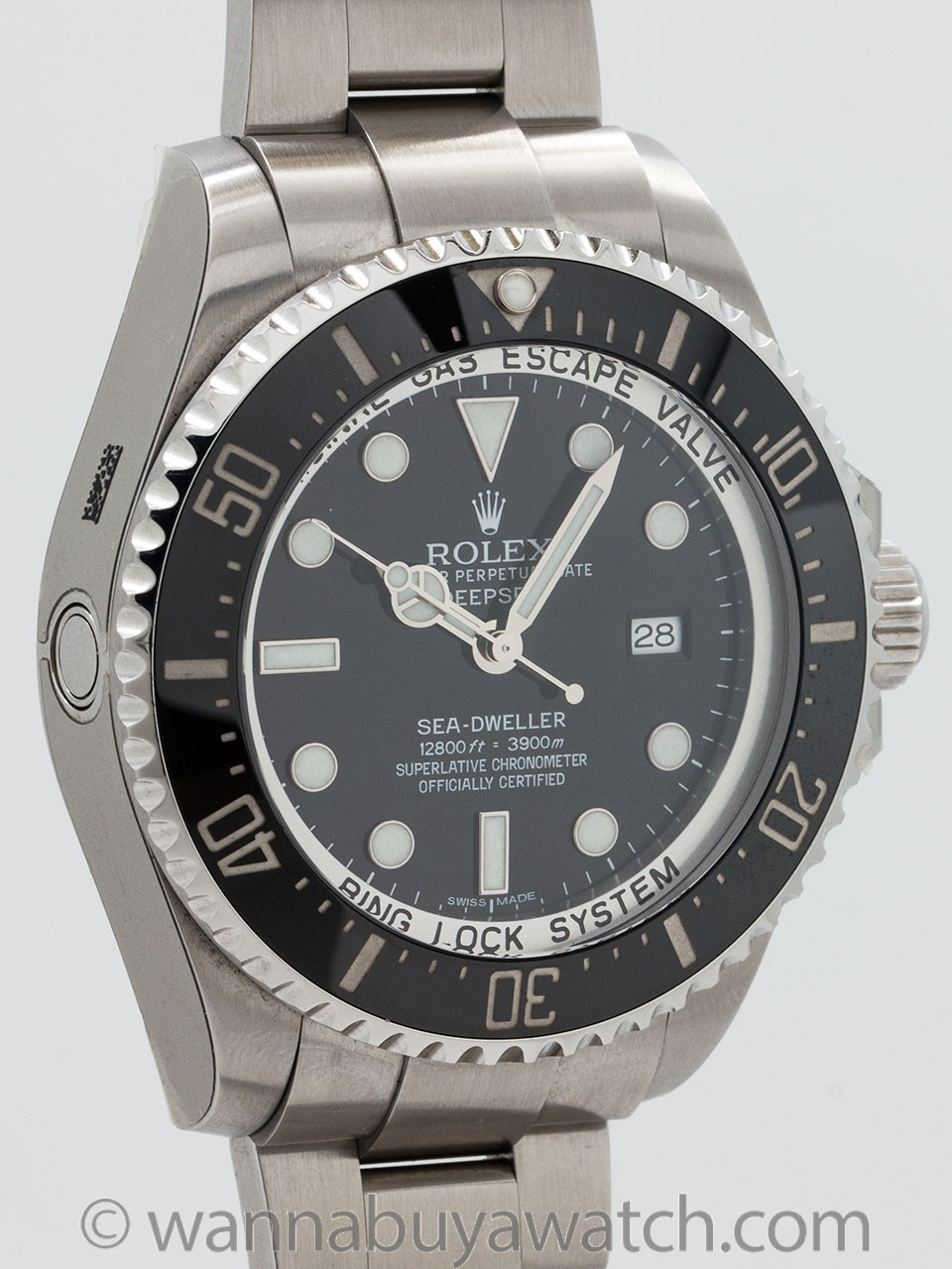 Rolex Seadweller Deep Sea ref 116660 Stainless Steel circa 2011