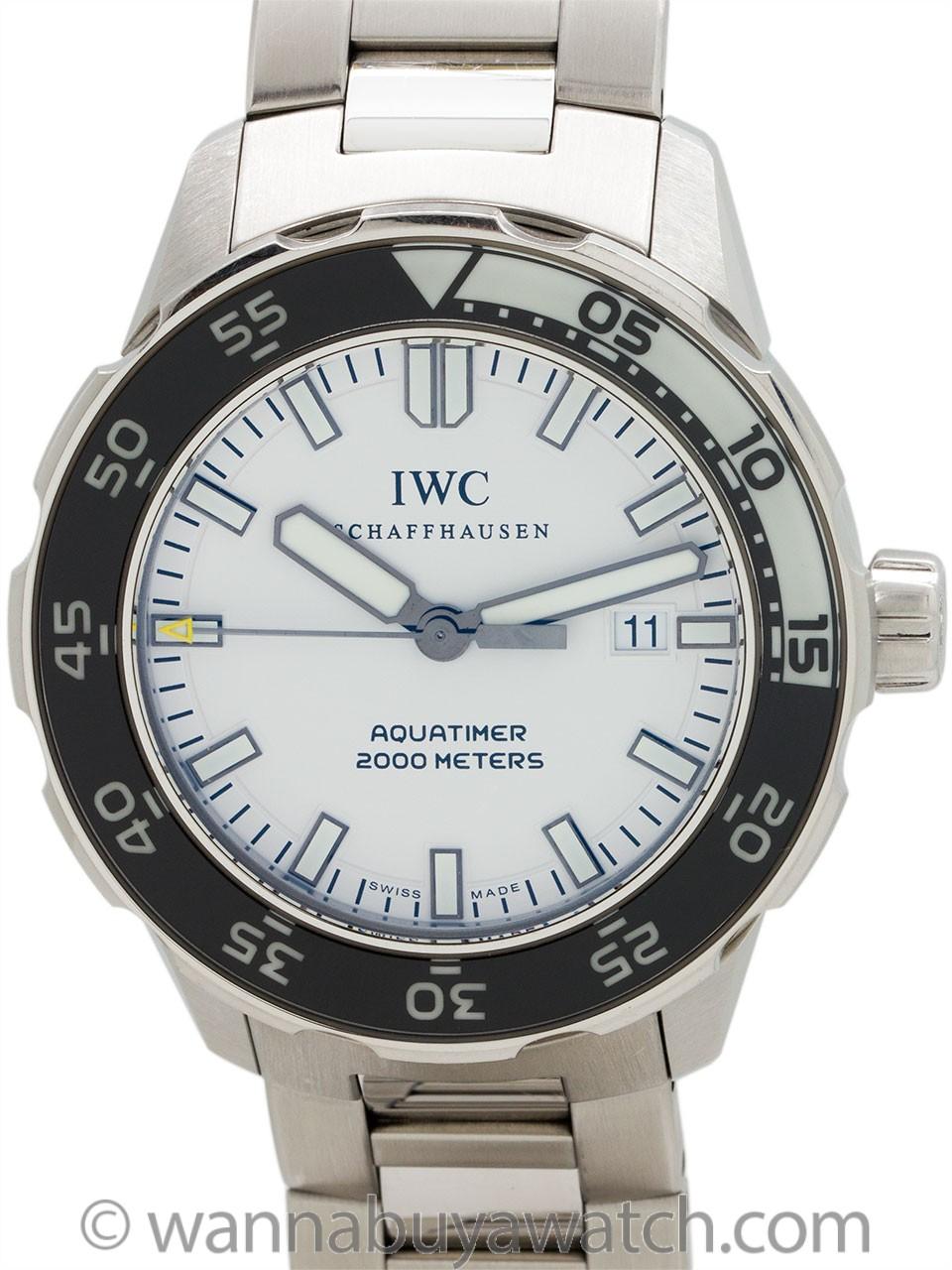 IWC Aquatimer 2000 Meters ref 356805 circa 2010s