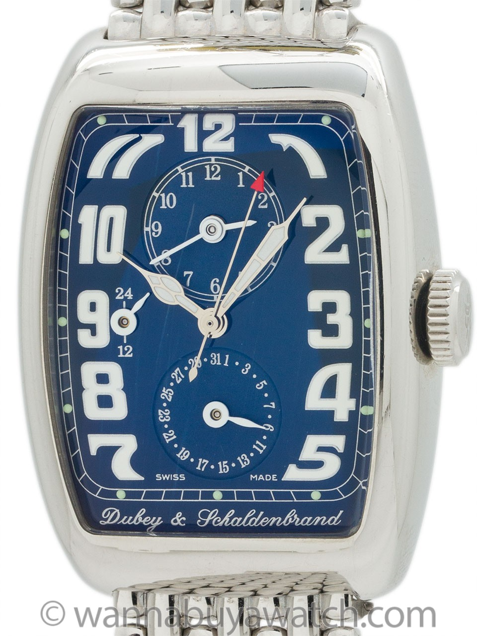 Dubey & Schaldenbrand AeroDyn Duo on Bracelet circa 2000s