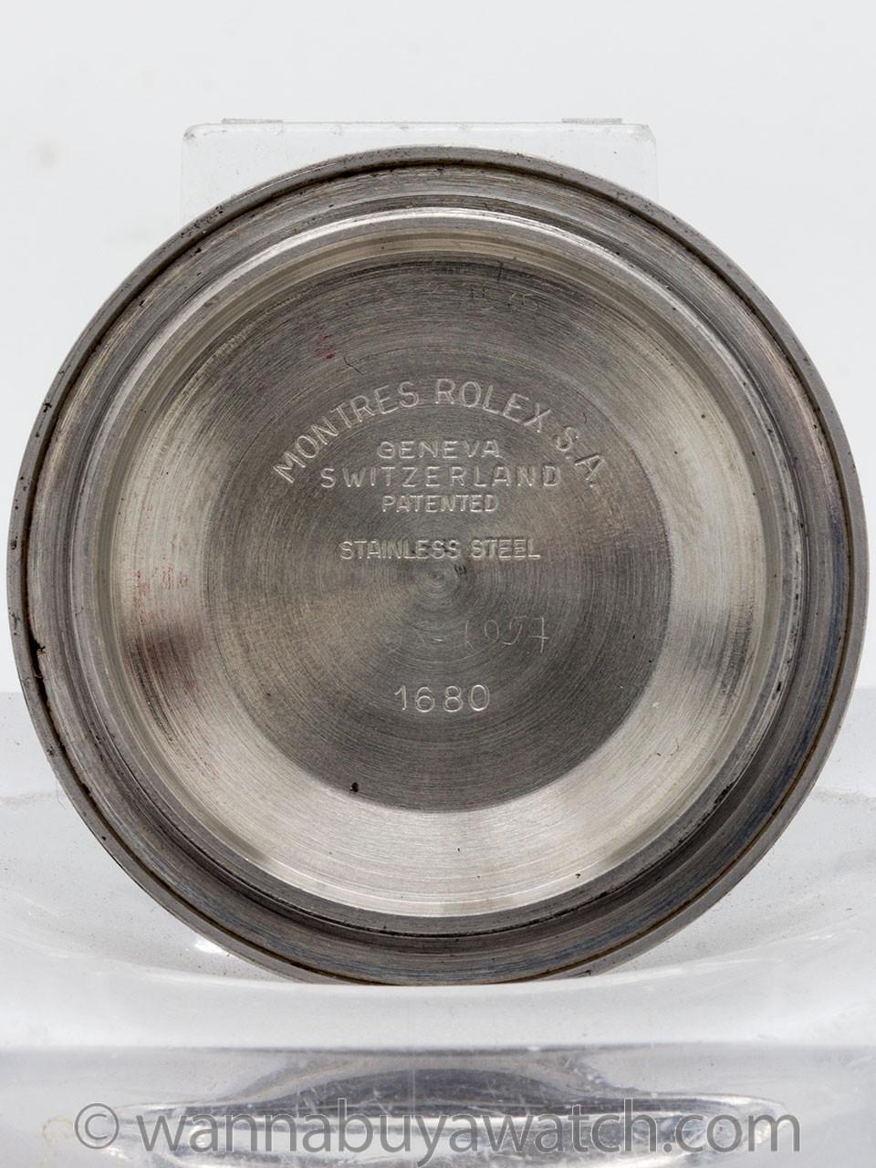 """Rolex ref 1680 """"Red"""" Submariner circa 1971 """"Ghost Bezel"""""""