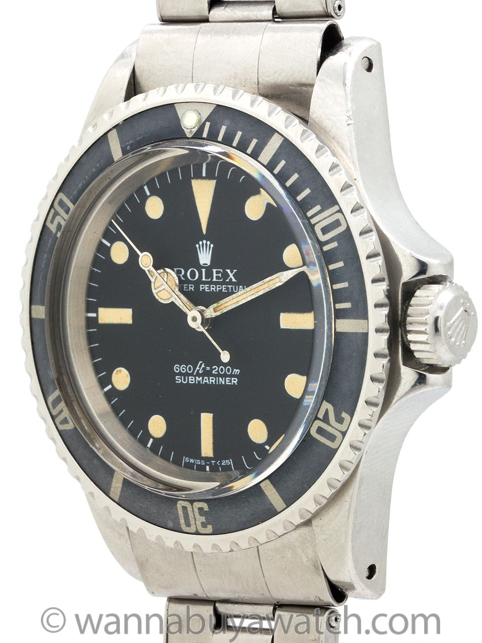 Rolex Submariner ref 5513 Stainless Steel circa 1974