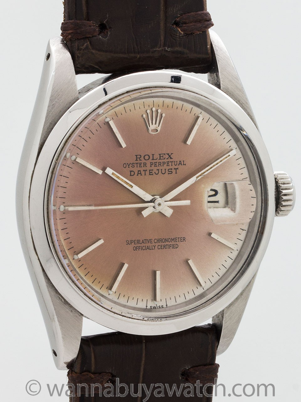 Rolex Datejust ref 16000 Patina'd Dial circa 1978