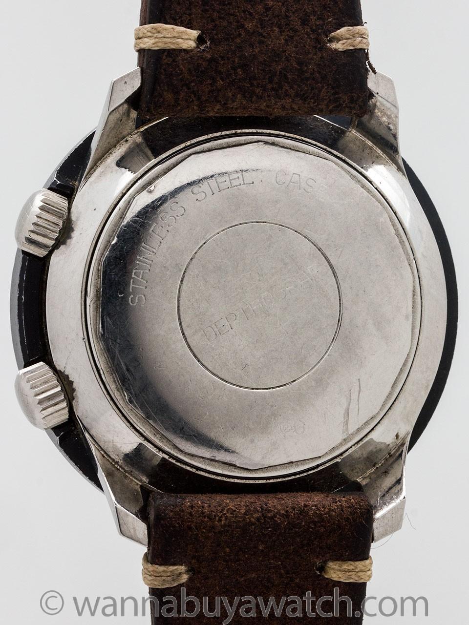 Le Jour Depthograf Super Compressor Diver's Model circa 1960s