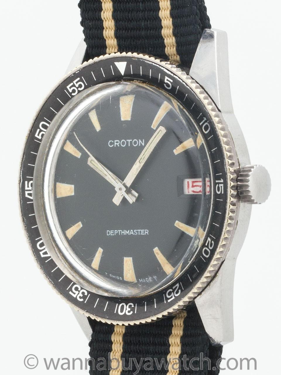 Croton Diver's Model circa 1960's