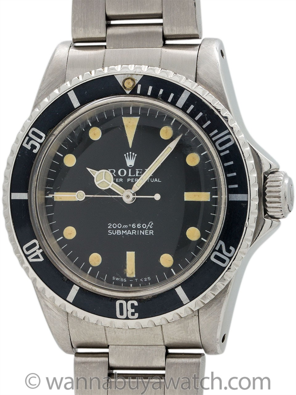 Rolex Submariner Meters 1st ref 5513 circa 1966