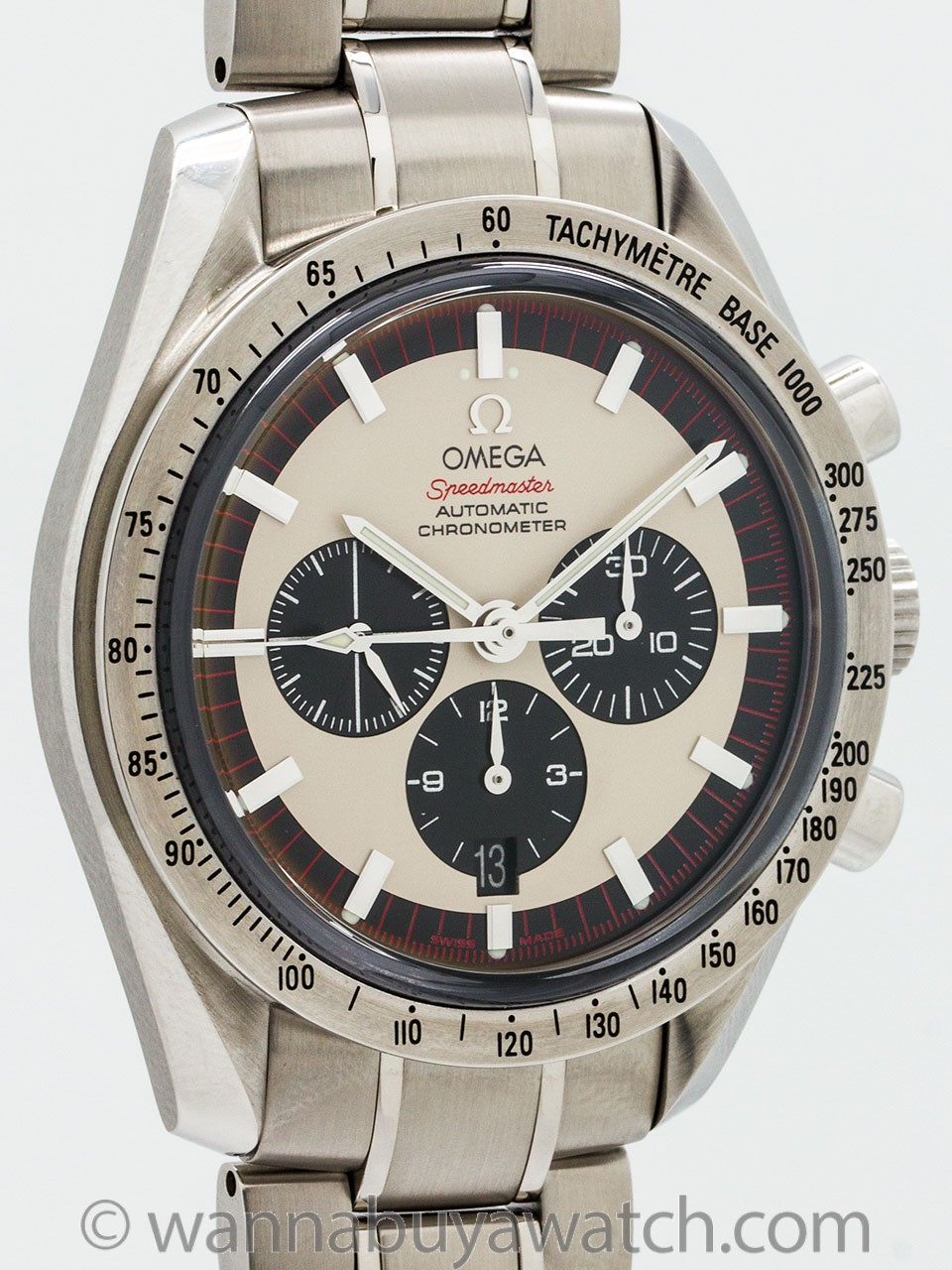 Omega Speedmaster Michael Schumacher The Legend circa 2004