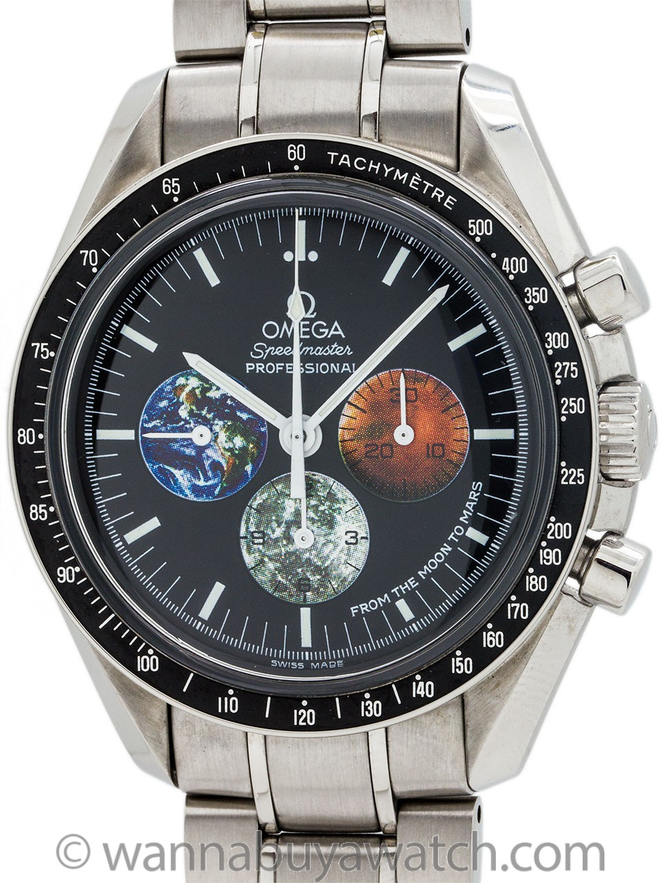 Omega Speedmaster Moon to Mars Mission ref 3577.50.00