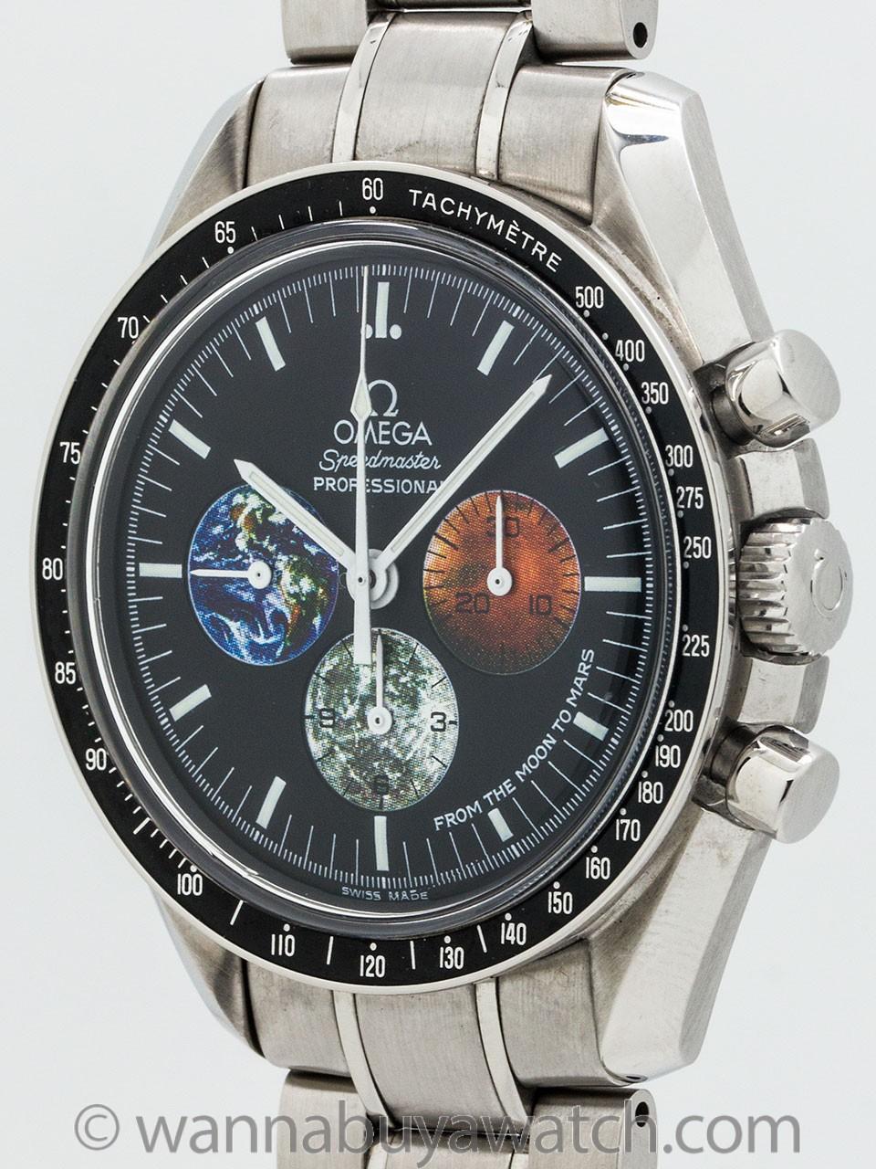 Omega Speedmaster Moon to Mars Mission ref 3577.50.00