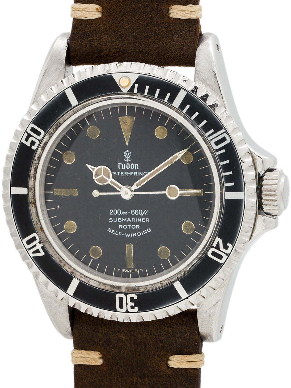 Tudor ref 7928 Submariner Stainless Steel circa 1966