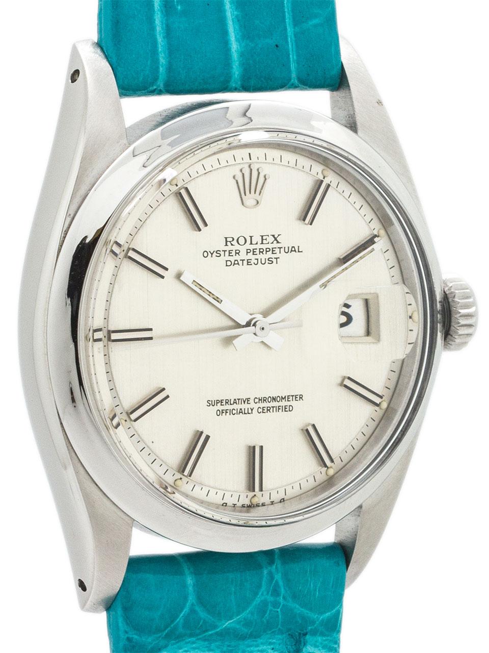 Rolex Datejust ref 1603 Stainless Steel circa 1972