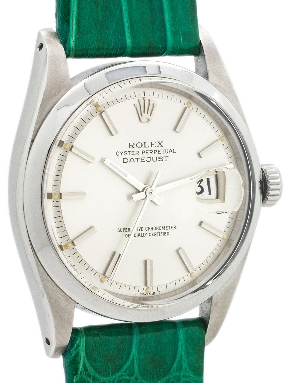Rolex Datejust ref 1603 Stainless Steel circa 1979