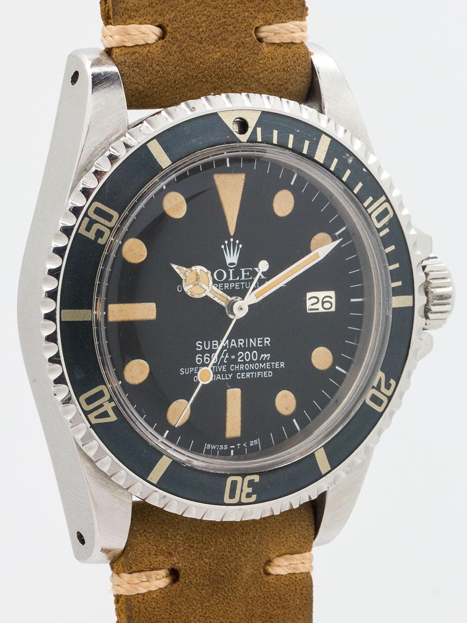Rolex Submariner ref 1680 circa 1977