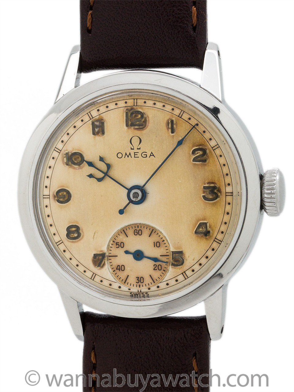 Vintage Omega SS manual wind model circa 1940's