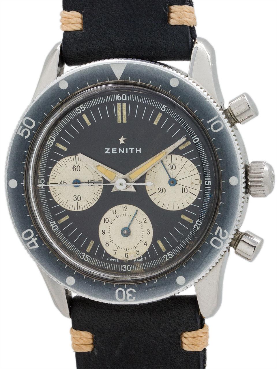 Zenith A277 Diver's Chronograph circa 1960's