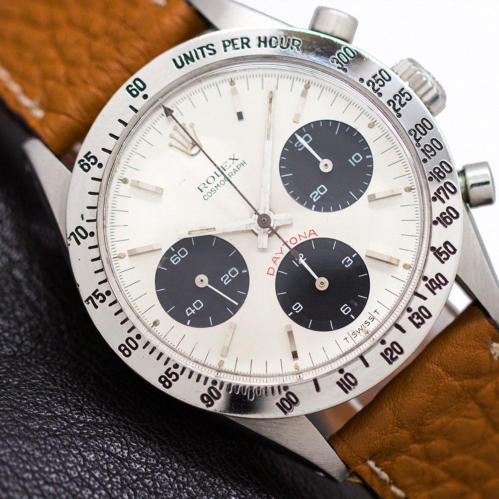 "Rolex Daytona ref 6239 ""Cherry Red"" circa 1966"