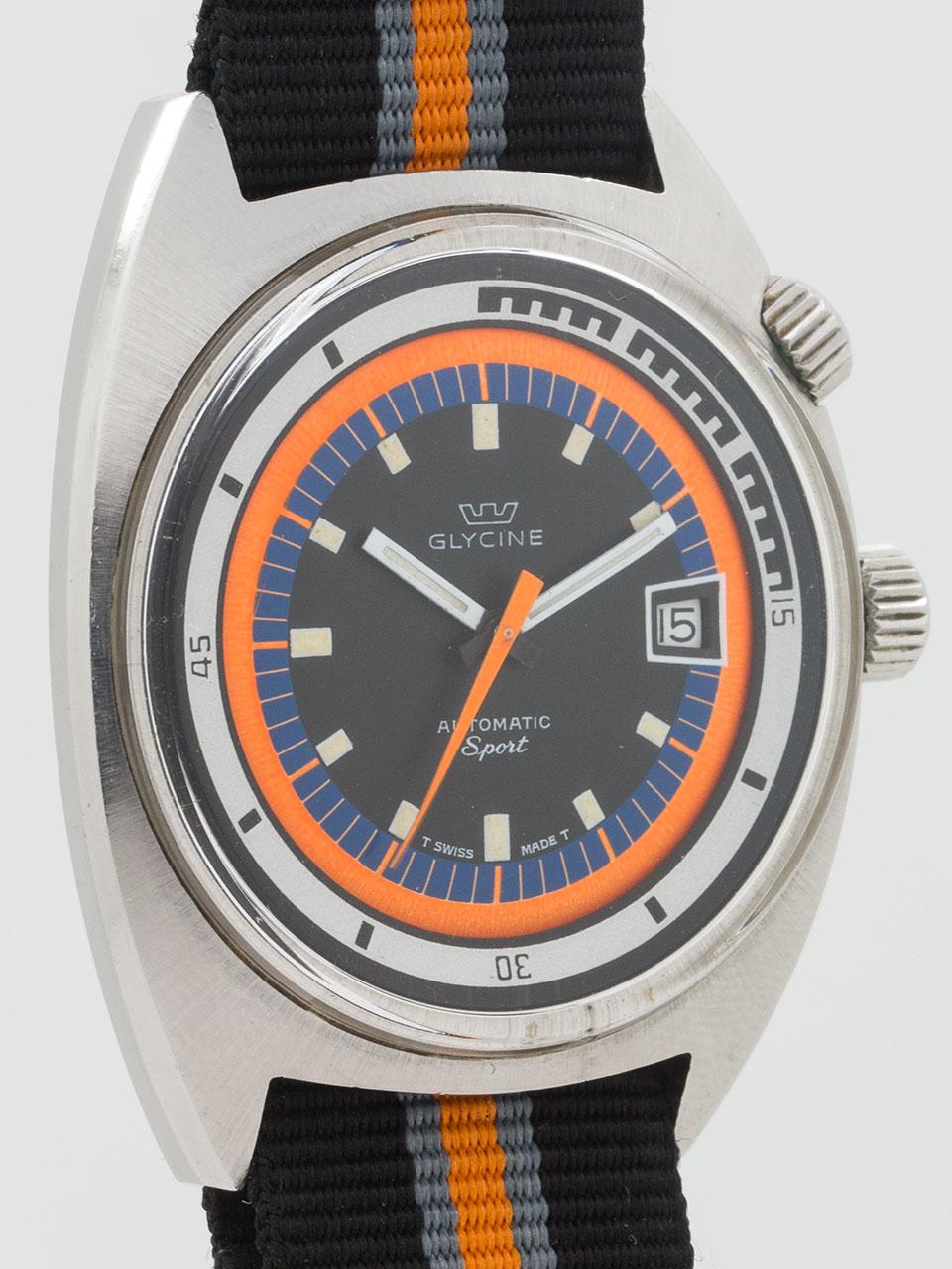 "Glycine Airman SST ""Sport"" circa 1970's"