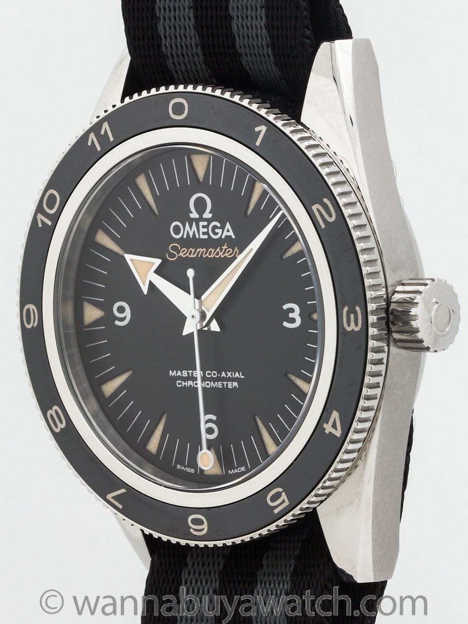 "Omega ""Spectre"" Seamaster 300 James Bond Special Edition B & P"