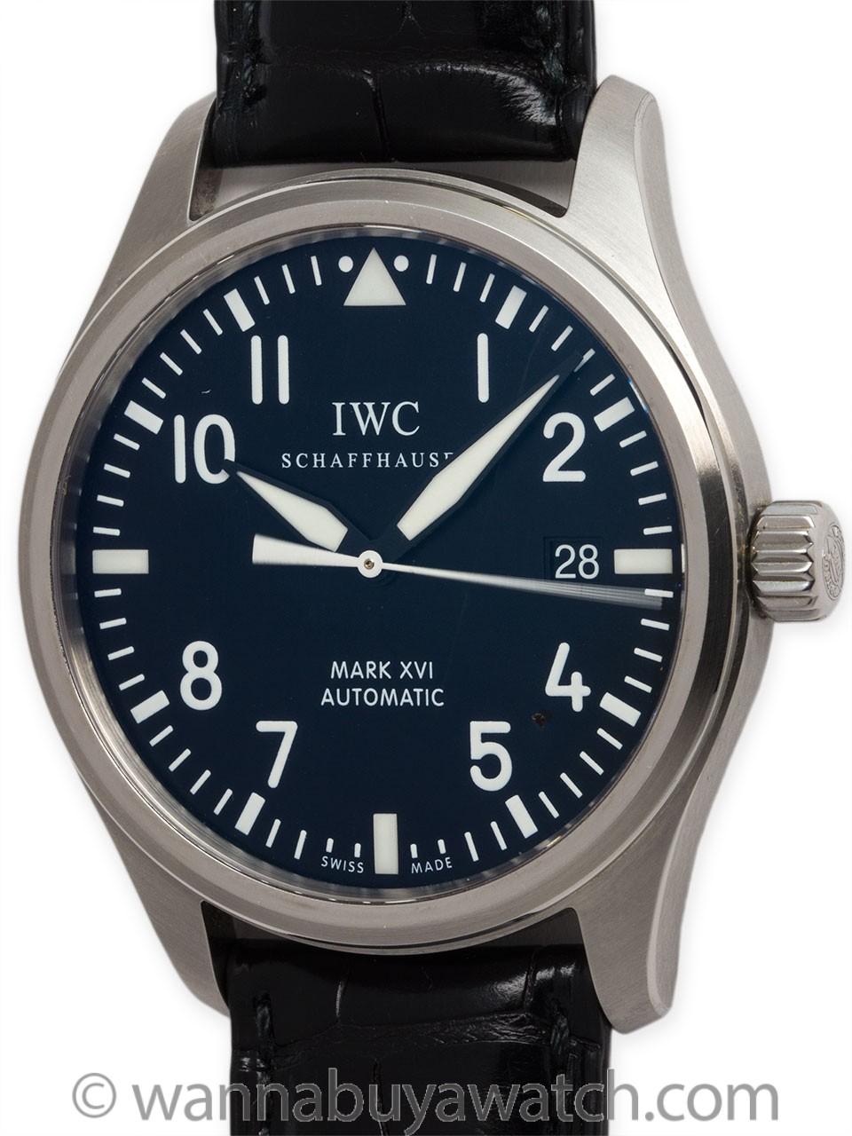 IWC SS Pilot's Mark XVI ref 3255 circa 2000s