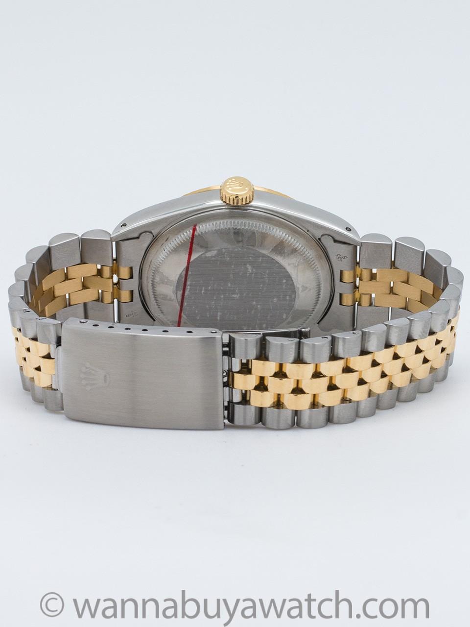 Rolex Datejust Tiffany & Co ref 16233 SS/18K circa 1990