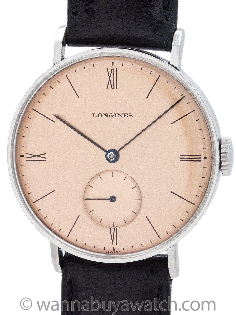 Longines Dress Model Stainless Steel circa 1942