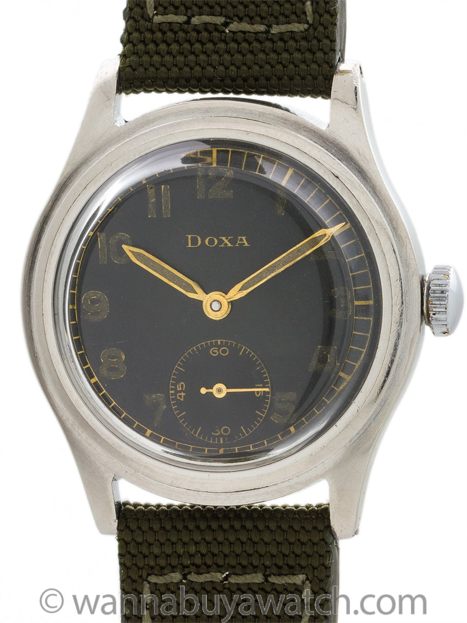 Doxa Military ref. 6525 circa 1940's