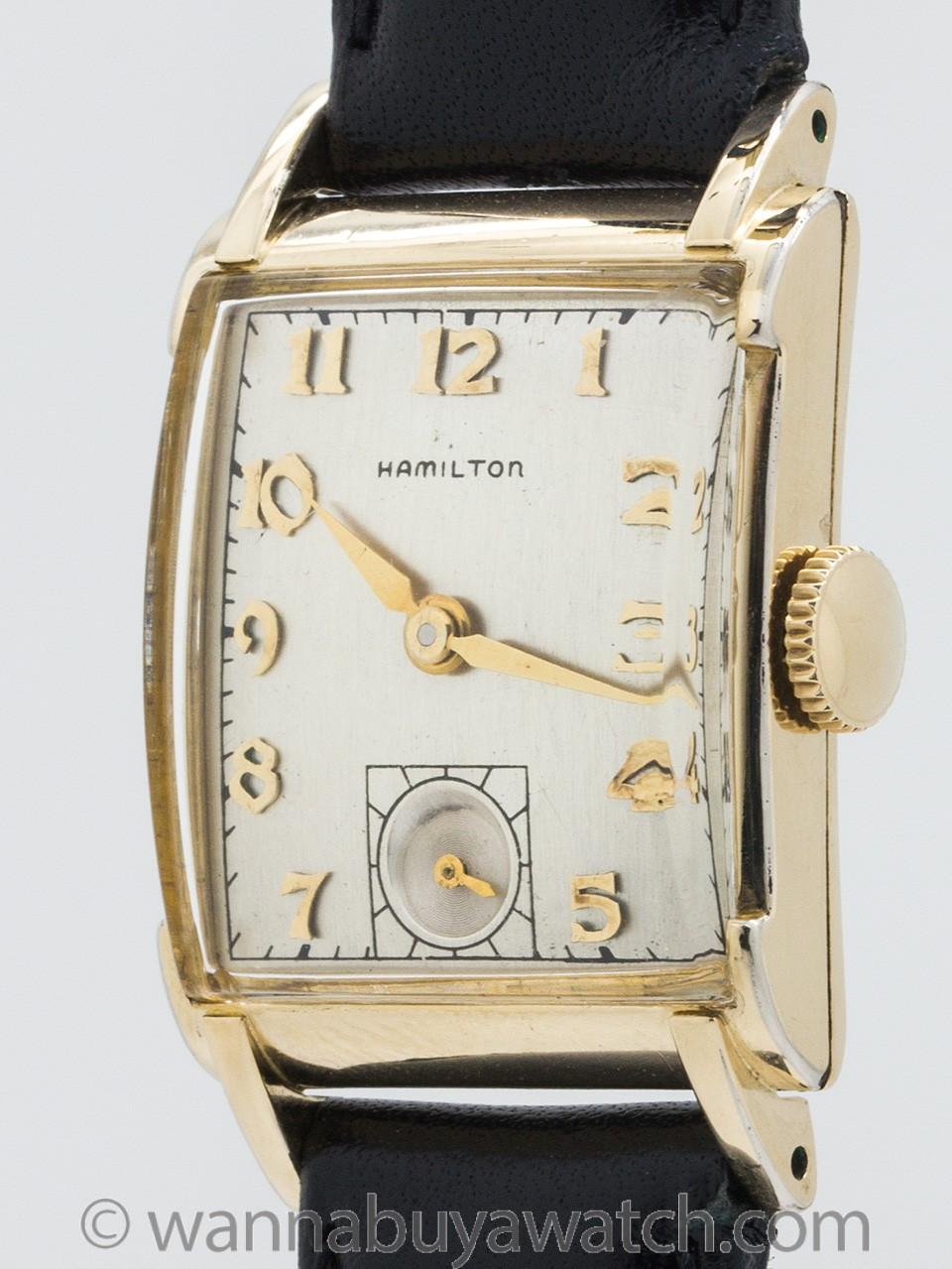 Hamilton Man's Gold Filled Dress Watch circa 1940's