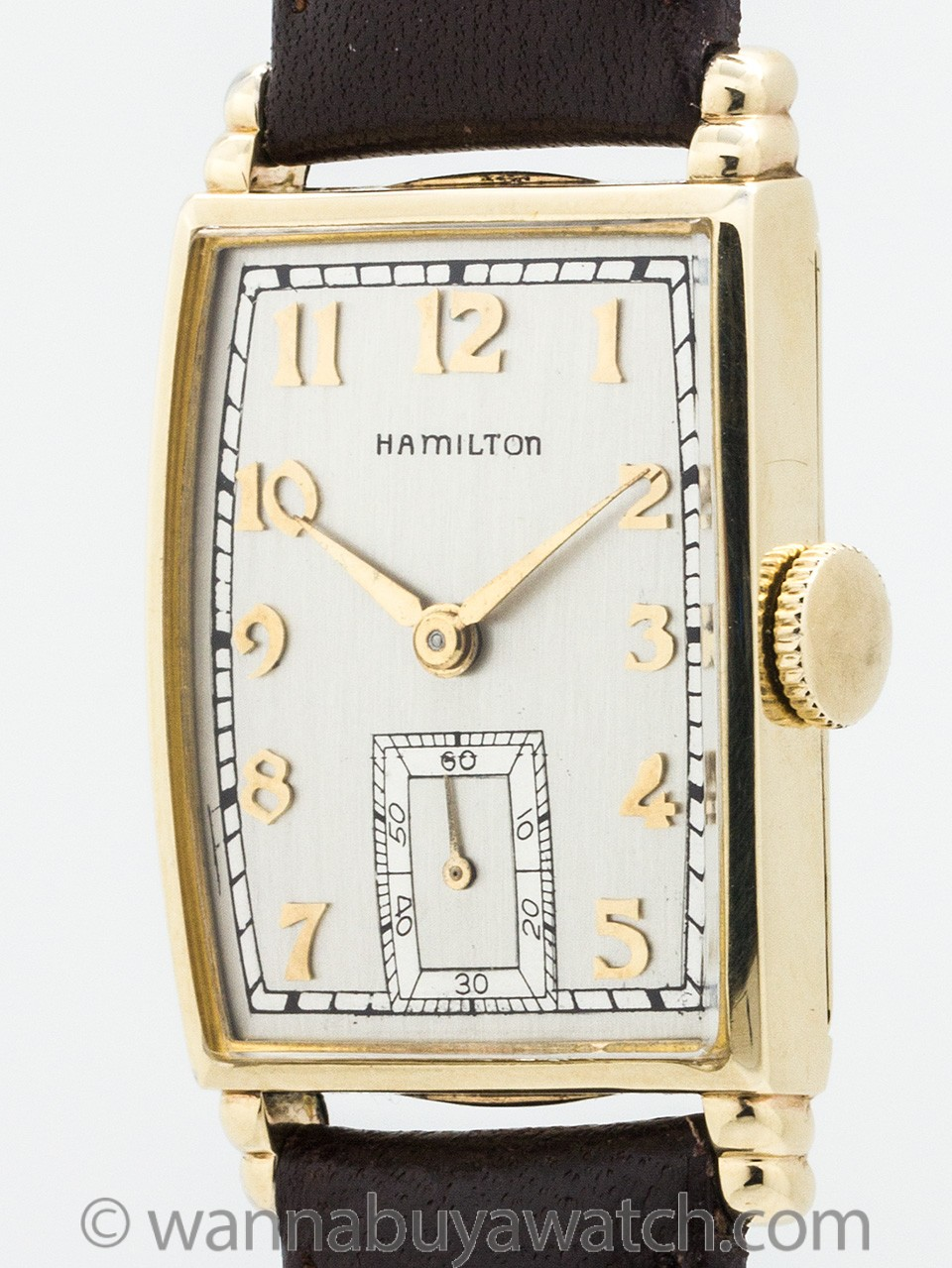 "Hamilton ""Myron"" Gold Filled circa 1940's"