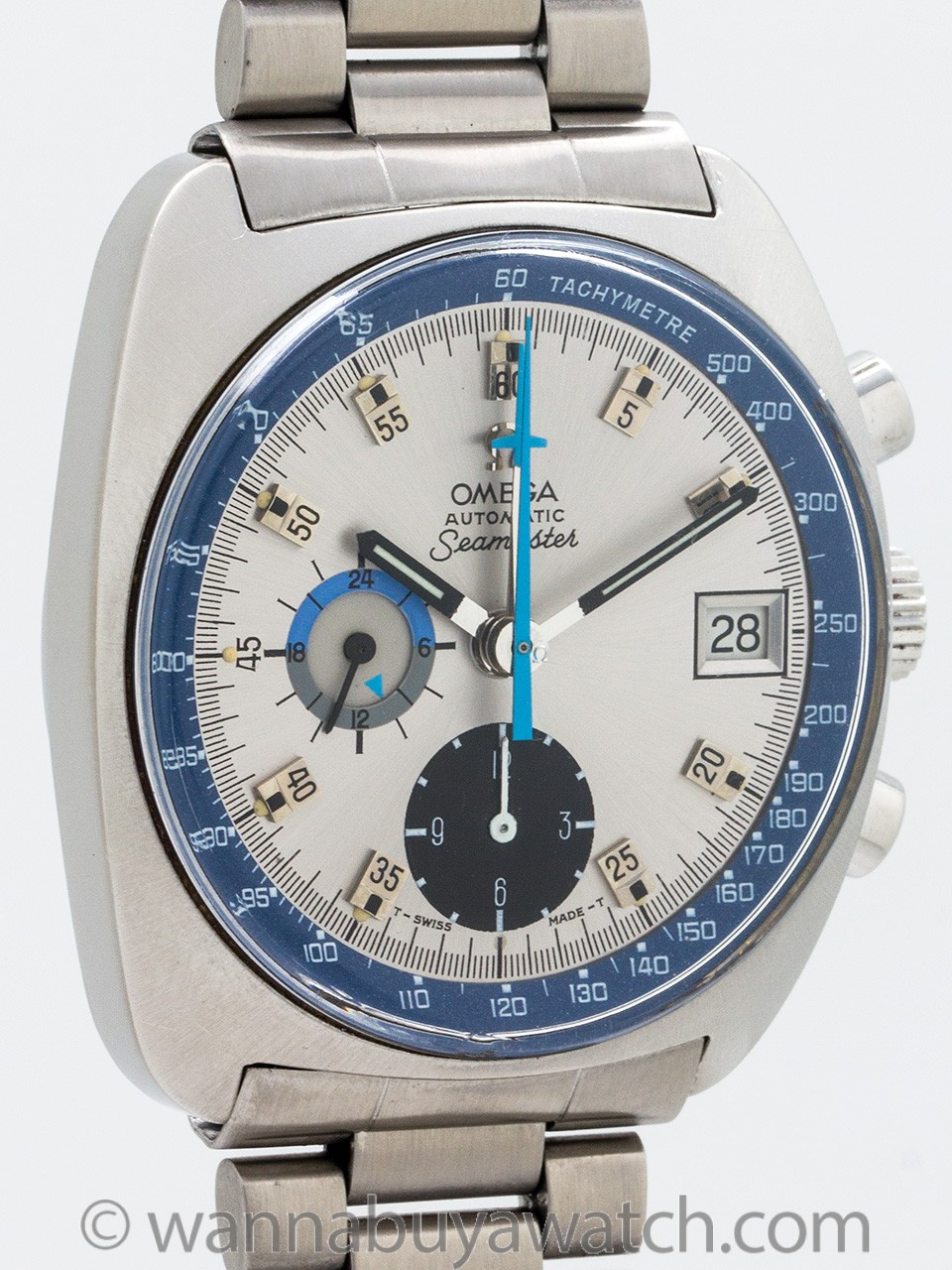 Omega Seamaster Chronograph Automatic circa 1969