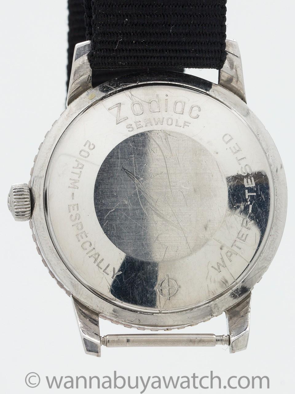 Zodiac Seawolf Stainless Steel circa 1960's