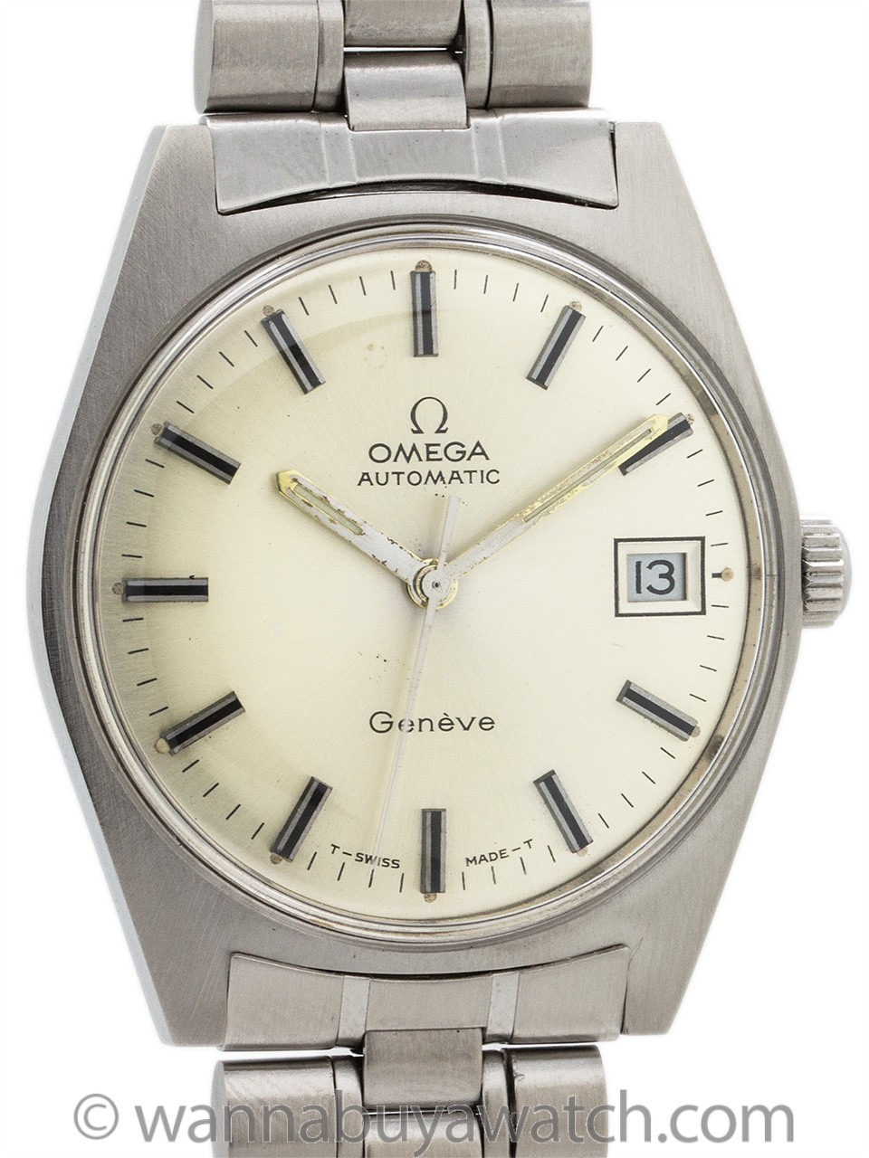 Omega Automatic Geneve ref 166041 circa 1970's
