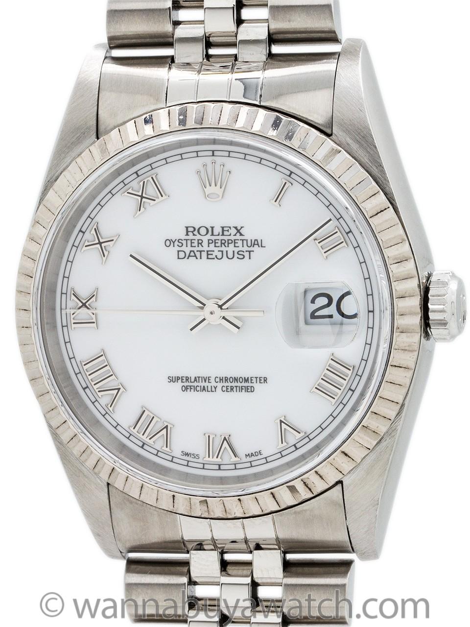 Rolex Datejust Stainless Steel ref 16234 circa 1988