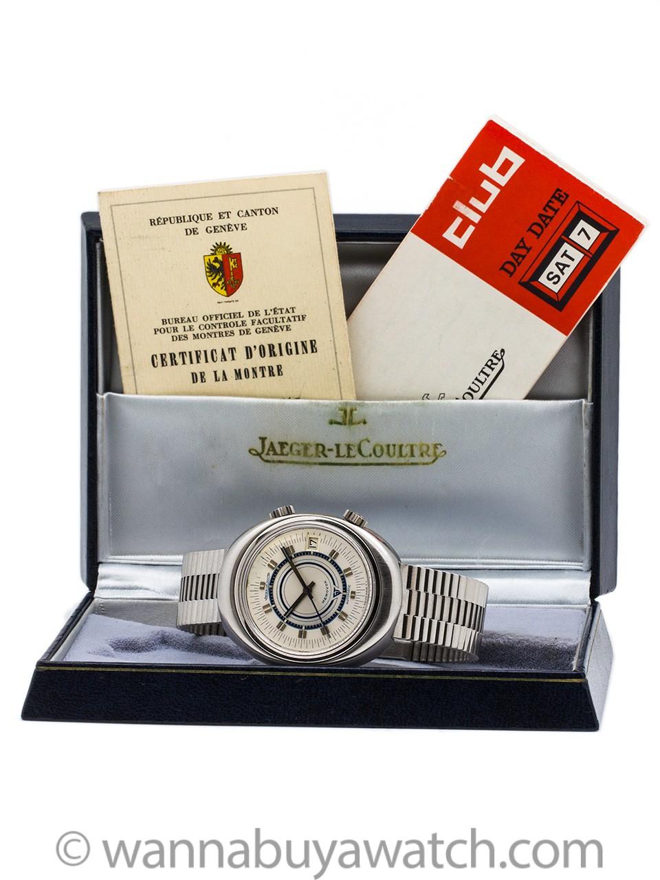 Jaeger Lecoultre Memovox GT Alarm circa 1970's