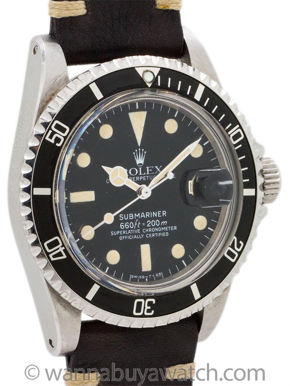 Rolex Submariner ref 1680 circa 1979