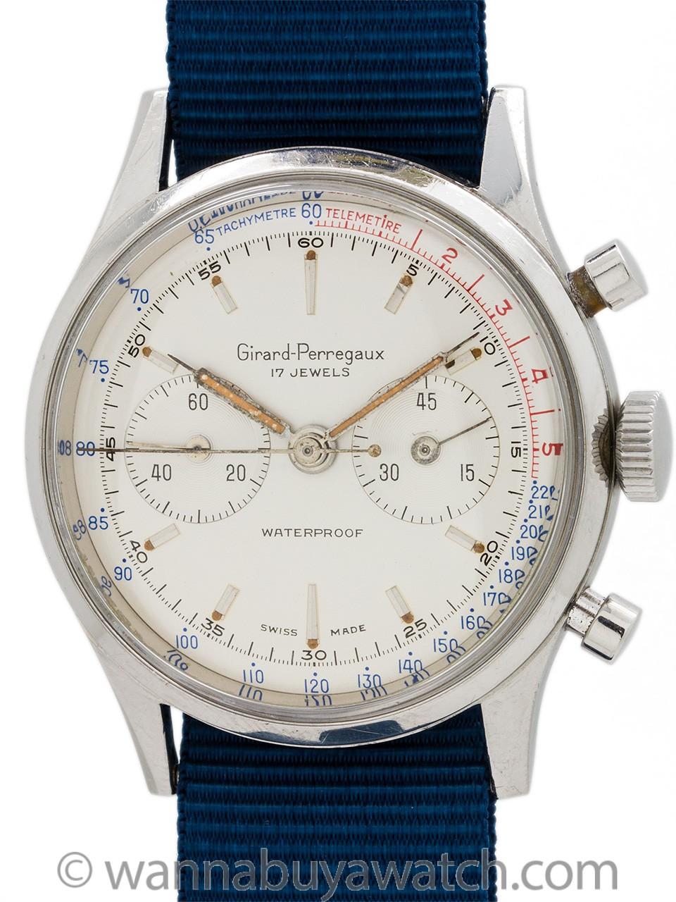 Girard Perregaux Vintage Chronograph circa 1960s