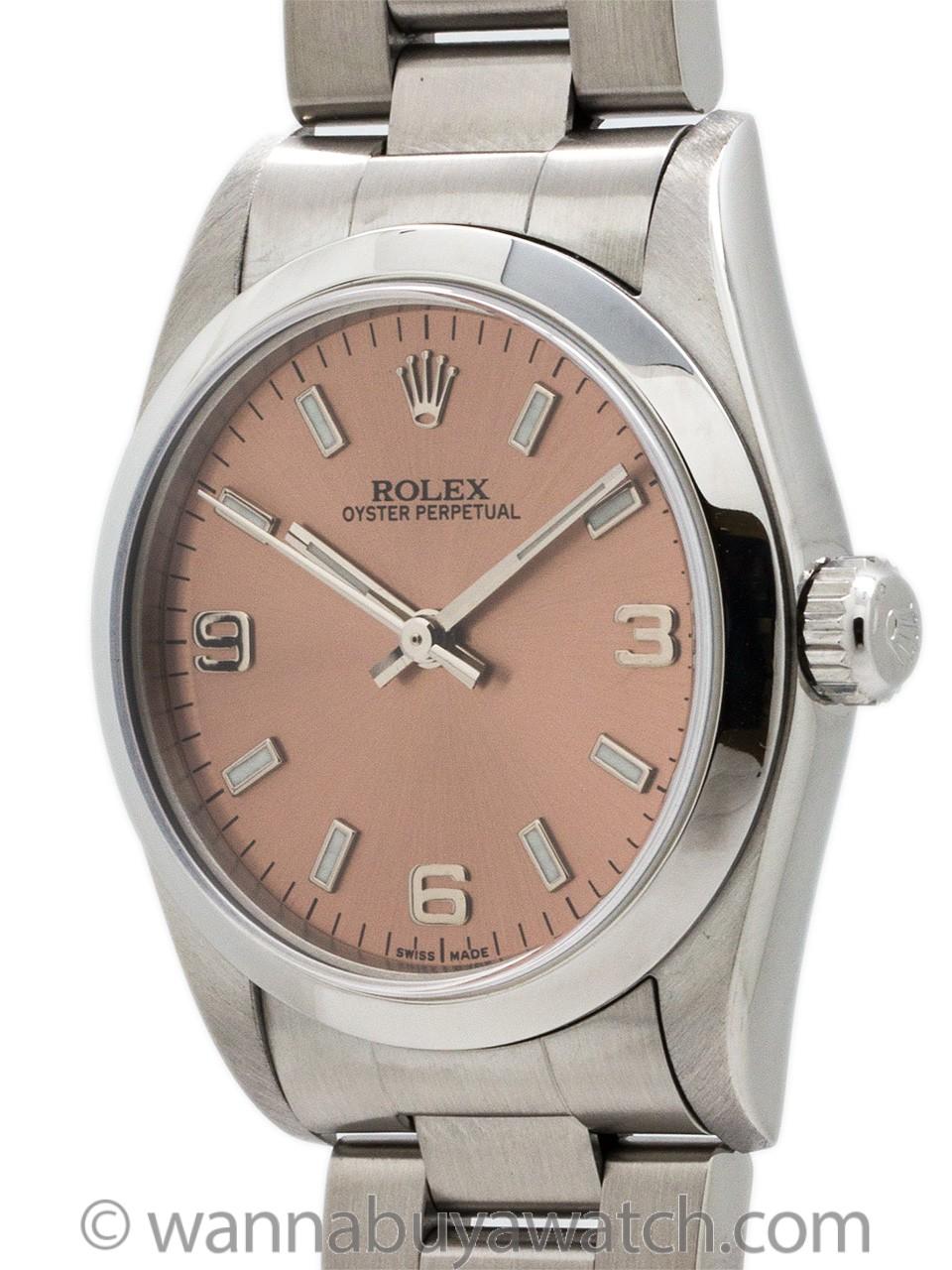 Rolex Oyster Perpetual Midsize ref 67480 circa 1996