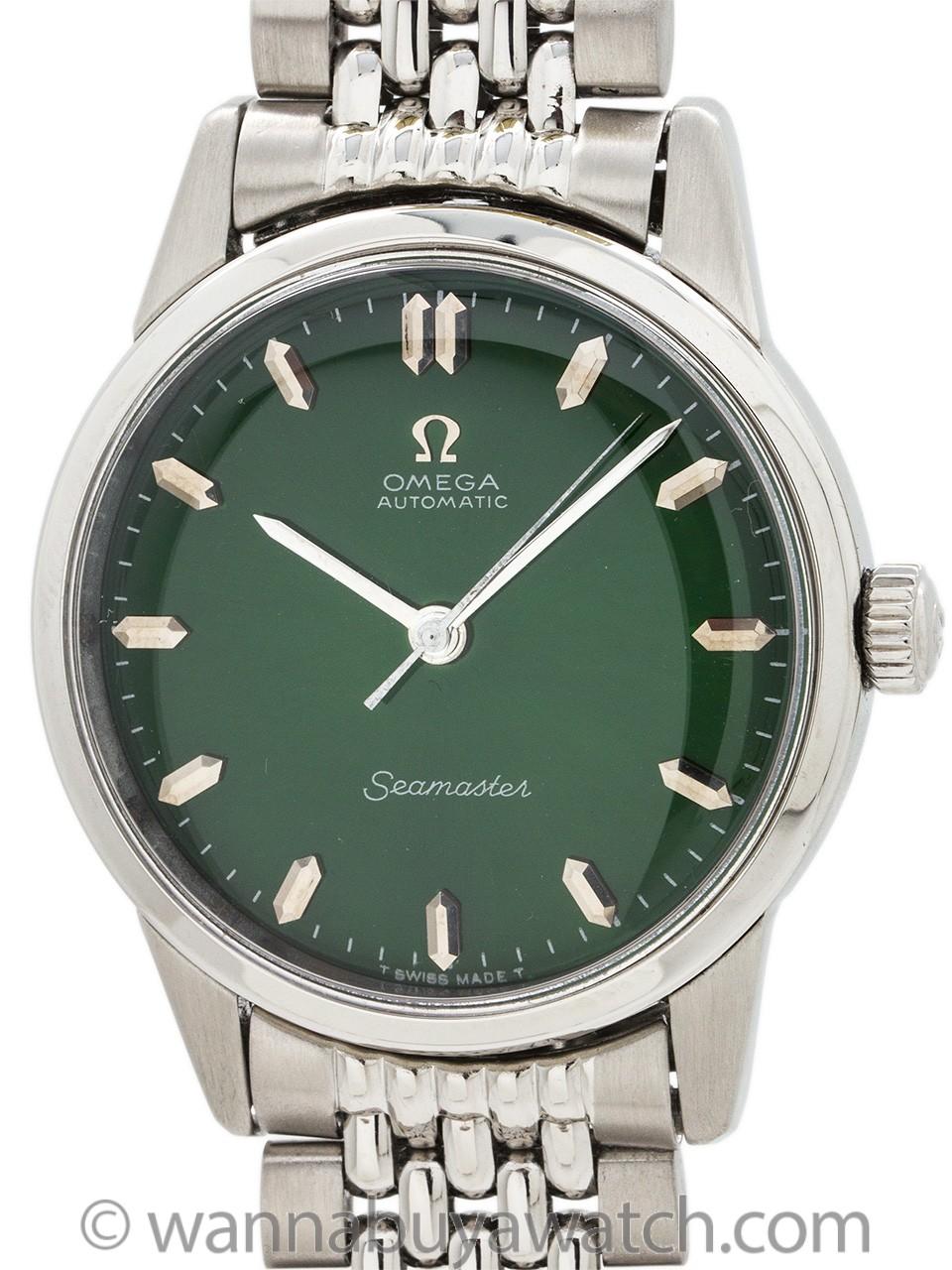 "Omega ref 14390 Seamaster ""Jade Green"" circa 1962"
